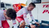 Przygotowania Maciejuka do 6. etapu Tour de Pologne