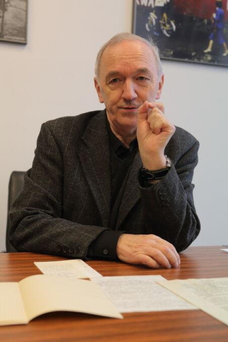 """Wojciech Charkin wtedy pracował w Tygodniku Studenckim """"Politechnik"""""""