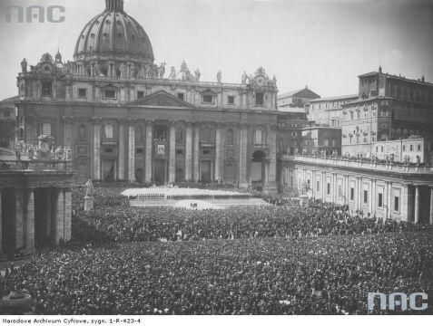 Kanonizacja błogosławionego Andrzeja Boboli w Rzymie, 1938