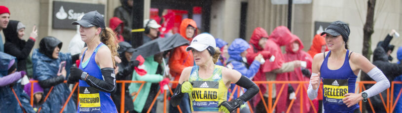 Pielęgniarka na podium najstarszego maratonu. Bez sponsora, bez menedżera