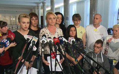 Agnieszka Ścigaj o proteście rodziców dzieci niepełnosprawnych