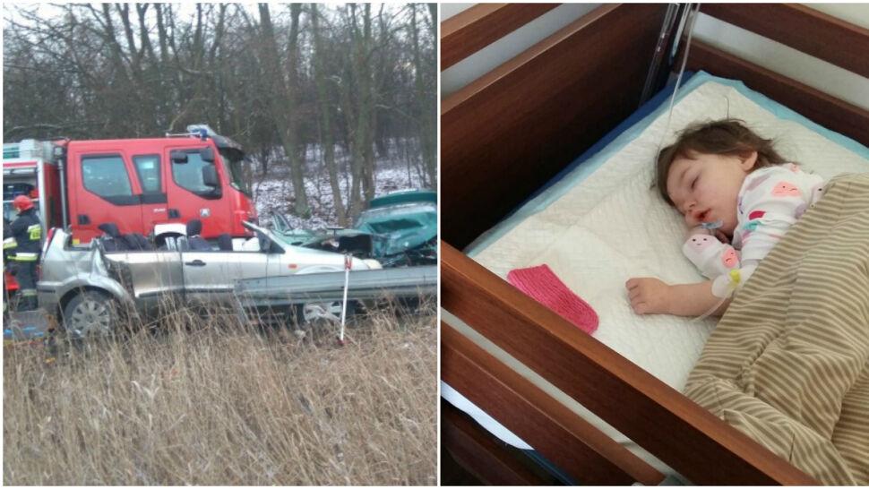 Po wypadku samochodowym Maja ma obumarłą półkulę mózgu. Sprawca trafi do więzienia