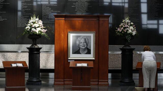 Ameryka żegna byłą pierwszą damę. Pogrzeb Barbary Bush