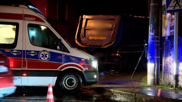 10-latek zginął pod kołami ciężarówki, kierowca zatrzymany
