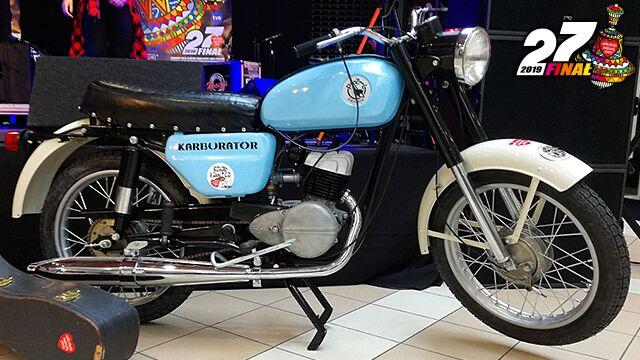 Motocykl można wylicytować w internecie