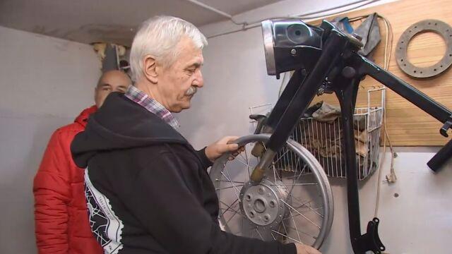 Skonstruowali motocykl i przekazali go na WOŚP