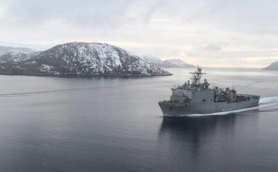 Okręt USS Fort McHenry wpłynał na Morze Czarne