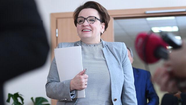 Minister Zalewska z nową propozycją dla nauczycieli