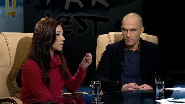 Ewa Zajączkowska i Tomasz Zdrojewski w Tak jest