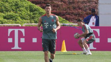 Lewandowski nie wziął udziału w treningu Bayernu