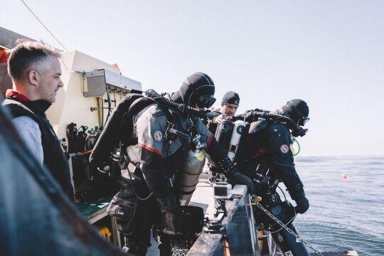 W morzu spędzili jedynie trzy dni