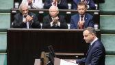 Prezydent Duda wygłosił orędzie przed Zgromadzeniem Narodowym