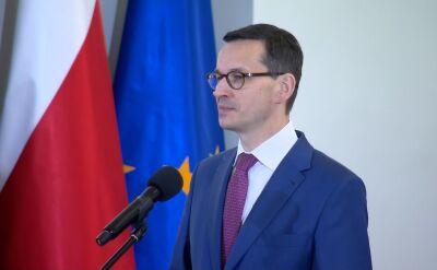 Morawiecki: To wielki zaszczyt