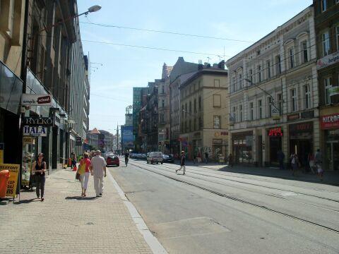 Ulica 3 Maja w Katowicach, 2011 rok