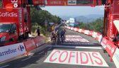 Roglić na mecie 14. etapu Vuelta a Espana, Eiking obronił czerwoną koszulkę