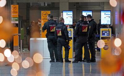 Alarm na niemieckich lotniskach, poszukiwania kilku osób