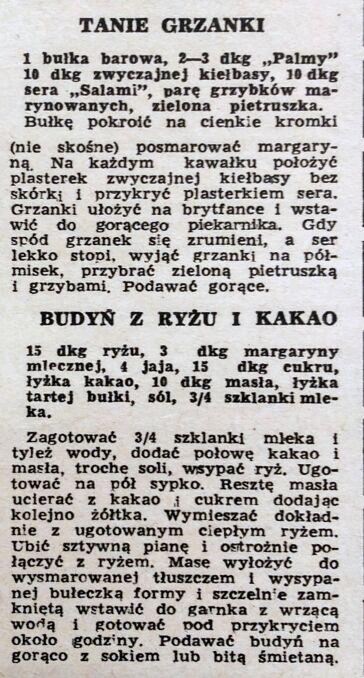 """""""Kobieta i Życie"""", 16 grudnia 1964 roku"""