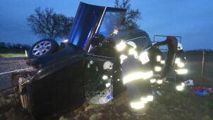 Pijany policjant CBŚP zawracał, wjechał w niego tir