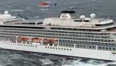 Ewakuacja 1300 pasażerów statku u wybrzeży Norwegii