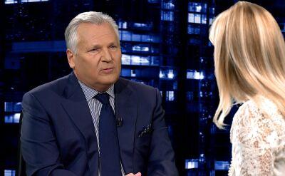 """Aleksander Kwaśniewski w """"Kropce nad i"""". Cała rozmowa"""