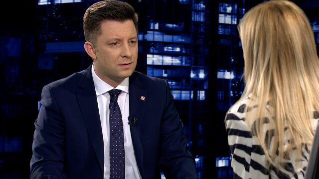 """Michał Dworczyk w """"Kropce nad i"""" o strajku nauczycieli"""