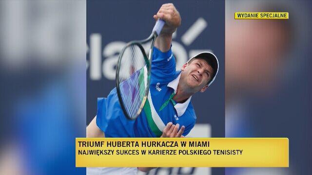 Karol Stopa komentuje wygraną Huberta Hurkacza