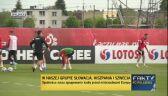 Pierwszy trening piłkarzy reprezentacji Polski w Opalenicy