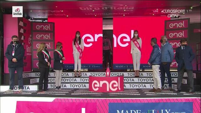 Egan Bernal utrzymał różową koszulkę po 20. etapie Giro d'Italia
