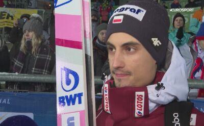 Maciej Kot po kwalifikacjach w Klingenthal
