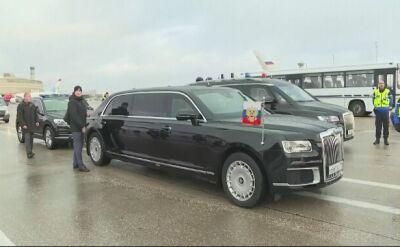 Władimir Putin przybył do Paryża