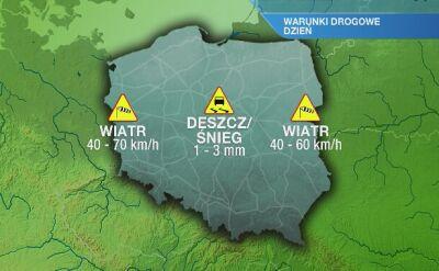 Warunki drogowe w sobotę 14.12