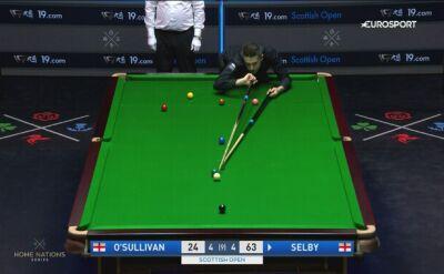 Tak Mark Selby wyrzucił z turnieju Ronniego O'Sullivana