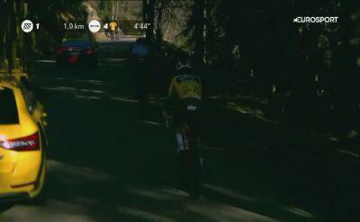 Kwiatkowski nie jest już liderem wyścigu Paryż-Nicea