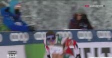 Finisz Moniki Skinder w ćwierćfinale sprintu podczas zawodów PŚ w Ruce