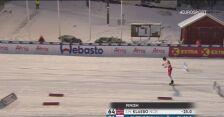 Johannes Hoesflot Klaebo najszybzy w biegu na 15 km w Ruce