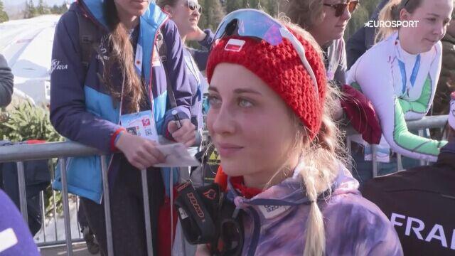 Izabela Marcisz po sztafecie kobiet w mistrzostwach świata