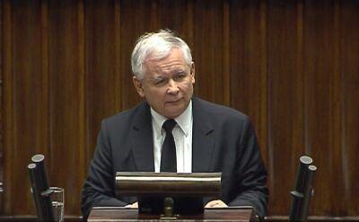 Kaczyński: ten rząd jest skompromitowany