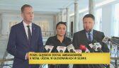 Poseł Głębocki wziął udział w głosowaniach w Sejmie. PO składa zawiadomienie do prokuratury