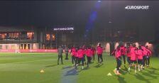 Trening Liverpoolu przed meczem z Ajaksem Amsterdam