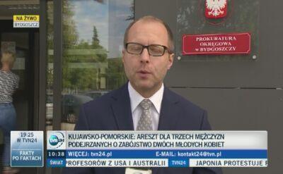 Bydgoszcz: Śledczy szukają motywu podwójnego zabójstwa