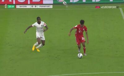 Puchar Niemiec. Eintracht - Bayern. Gol Ivan Perisic (1:0)