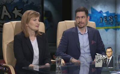 Beata Biel i dr Jan Zając w Tak Jest