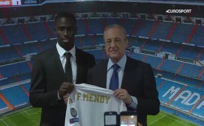 Ferland Mendy oficjalnie piłkarzem Realu