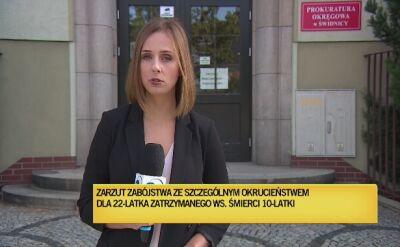 Prokuratura na razie nie informuje czy 22-latek przyznał się do winy