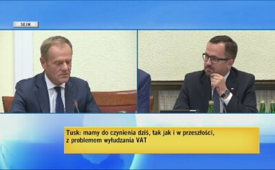 Tusk: jak ocenicie tak zwaną lukę VAT-owską za czasów rządów PiS?