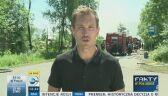 Śledztwo po pożarze w Trzebini