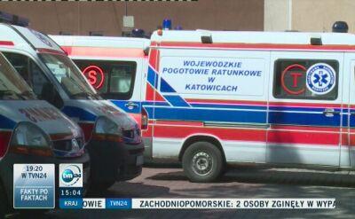 17-latek zaatakował ratowników medycznych