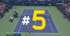 Najlepsze zagrania 12. dnia US Open