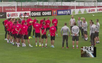 Kadrowicze trenowali przed meczem ze Słowenią
