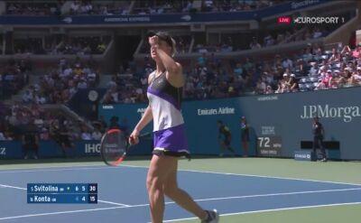 Elina Switolina zameldowała się w półfinale US Open
